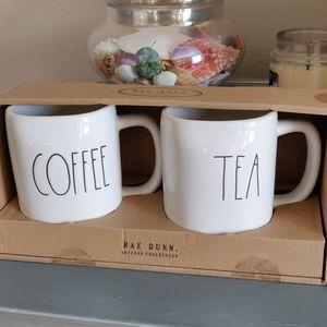 Rae Dunn Coffee and Tea mug's